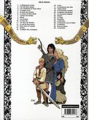 Thorgal T.29 ; Le Sacrifice - 4ème de couverture - Format classique