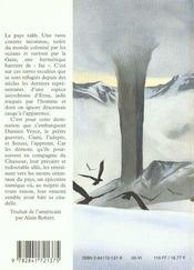 L Aube Du Soleil Noir 2 La Citadelle Des Tempetes - 4ème de couverture - Format classique