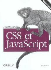 Pratique De Css Et Javascript - Intérieur - Format classique