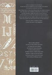 Abecedaires A 4 Mains - 4ème de couverture - Format classique