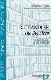 Raymond Chandler-The Big Sleep - Couverture - Format classique