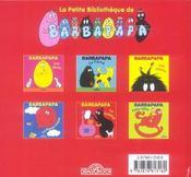Barbapapa - La Cuisine - 4ème de couverture - Format classique
