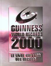 Le Livre Guiness Des Records 2000 - Intérieur - Format classique
