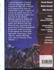 Revue Bifrost N.27 ; La Piste Aux Etoiles - 4ème de couverture - Format classique