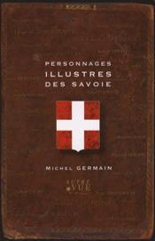 Personnages illustrés des Savoie - Couverture - Format classique