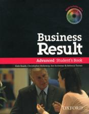Business result advanced: student's book & dvd-rom pack - Couverture - Format classique