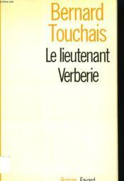 Le Lieutenant Verberie. - Couverture - Format classique