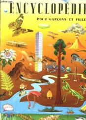 Enclyclopedie Pour Garcons Et Filles - Couverture - Format classique