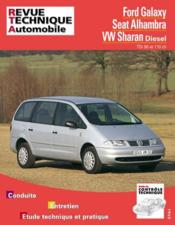 Rta 599.1 Ford Galaxy-Seat Alhambra-Vw Sharan Diesel - Couverture - Format classique