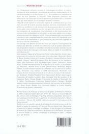Les Territoires De La Culture Scientifique - 4ème de couverture - Format classique