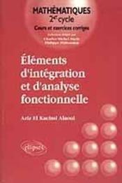 Elements D'Integration Et D'Analyse Fonctionnelle - Couverture - Format classique