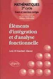 Elements D'Integration Et D'Analyse Fonctionnelle - Intérieur - Format classique