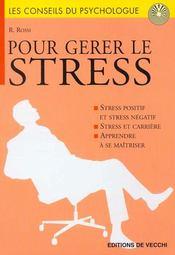 Pour Gerer Le Stress - Intérieur - Format classique