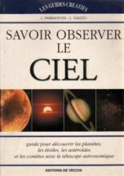 Observer Le Ciel - Couverture - Format classique