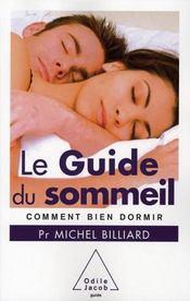 Le guide du sommeil - Intérieur - Format classique