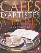 Cafes D'Artistes A Paris - Intérieur - Format classique