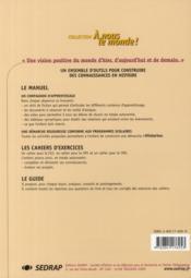 Le Cahier Cm2 Histoirea Nous Le Monde Cycle Iii - 4ème de couverture - Format classique