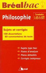 Bb philosophie terminales - Intérieur - Format classique