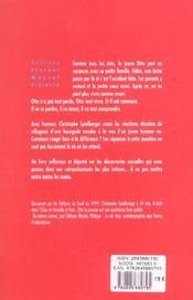 Otto le puceau - 4ème de couverture - Format classique
