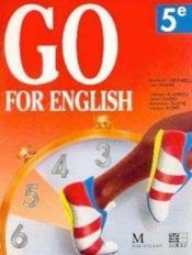 Go For English 5e - Couverture - Format classique