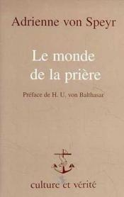 Monde De La Priere Avs13 - Couverture - Format classique