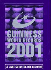 Livre Guinness Des Records 2001 - Intérieur - Format classique