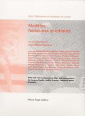 Modèles, phantasmes et intimité - Couverture - Format classique
