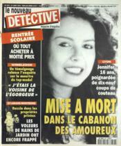 Nouveau Detective (Le) N°676 du 31/08/1995 - Couverture - Format classique