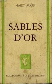 Sables D'Or. Collection : A La Belle Helene. - Couverture - Format classique