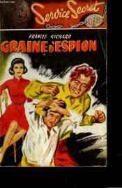 Graine D'Espion - Couverture - Format classique
