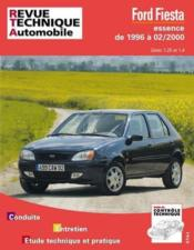 Rta 600.2 Ford Fiesta E (96-00) - Couverture - Format classique