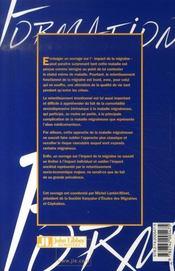 Qualité de vie et impact de la migraine - 4ème de couverture - Format classique