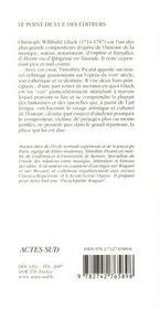 Gluck - 4ème de couverture - Format classique