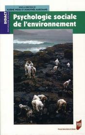 Psychologie sociale de l'environnement - Intérieur - Format classique