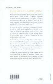Un Dimanche A La Piscine De Kigali - 4ème de couverture - Format classique