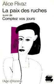 Paix Des Ruches (La) Ps35 - Couverture - Format classique