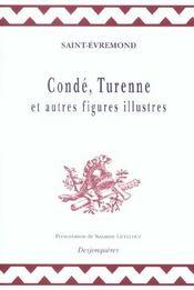 Conde, Turenne, Et Autres Figures Illustres - Intérieur - Format classique