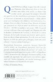 Histoire de France - 4ème de couverture - Format classique
