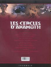 Les cercles d'Akamoth t.3 ; l'enfant vaudou - 4ème de couverture - Format classique