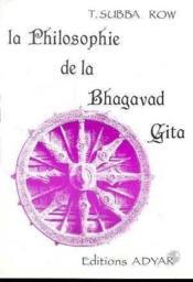 Philosophie de la bhagavad-gita - Couverture - Format classique