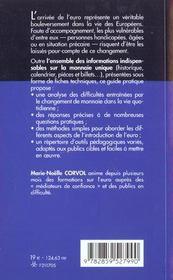 S'Approprier L'Euro ; Methodes Et Outils Pour Les Plus Vulnerables - 4ème de couverture - Format classique
