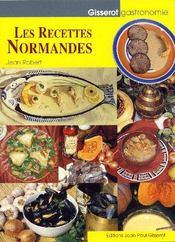 Les recettes normandes - Couverture - Format classique