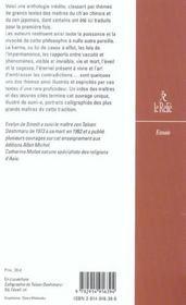 Les Patriarches Du Zen - 4ème de couverture - Format classique