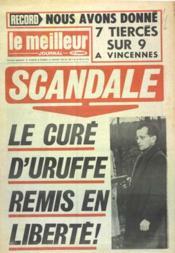 Meilleur Journal (Le) N°213 du 12/01/1974 - Couverture - Format classique