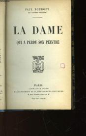La Dame Qui A Perdu Son Peintre - Couverture - Format classique