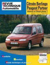 Rta 602.1 Peugeot Partner/Citroen Berlingo - Couverture - Format classique
