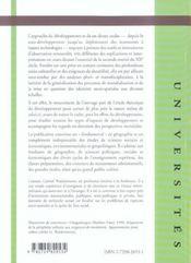 Geographie Du Developpement - 4ème de couverture - Format classique