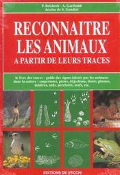 Reconnaitre Les Animaux A Partir De Leurs Traces - Intérieur - Format classique
