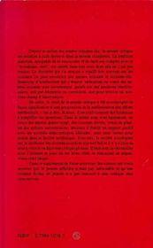 Futur Anterieur ; Le Gai Renoncement ; L'Affaiblissement De La Pensée Dans Les Années 80 - 4ème de couverture - Format classique