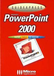 Powerpoint 2000 - Intérieur - Format classique